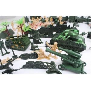 兒童軍事模型玩具 二戰兵人模型 玩具小人兵玩具 士兵玩具【藍星居家】