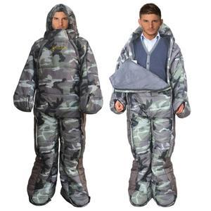 保暖睡袋 MAXSOINS麥凱松人形人型睡袋保暖露營睡袋野營行走人體行走睡袋 非凡小鋪