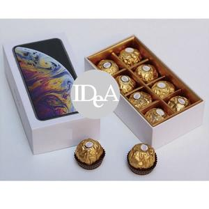 Apple iPhone XS Max 巧克力盒 搞怪 禮物 愚人節 交換禮物 創意蘋果 生日禮物 惡搞 情人節 金莎 聖誕節