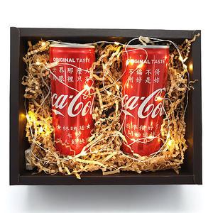 幸福婚禮小物❤雙瓶可樂禮盒❤創意驚喜/可口可樂/客製化/生日禮物/特別的禮物