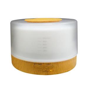 【HU-18C】【贈12瓶精油】水氧機 加濕器 香薰機【木紋-附遙控器】空氣淨化器 清淨機  無印良品