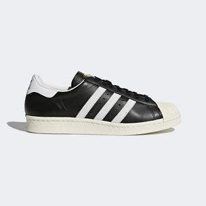 Adidas Superstar 80S [G61069] 女鞋 運動 休閒 經典 街頭 百搭 必備 金標 愛迪達 黑白