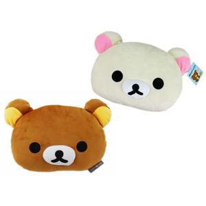 【卡漫城】 拉拉熊 午安枕 25cm寬 2選1 ㊣版 懶懶熊 Rilakkuma 小抱枕 午休枕 午睡枕 靠墊 頭枕