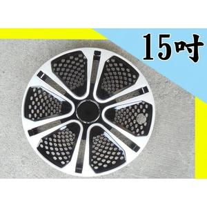 通用型 網狀洞洞滿版款 15吋 四入 改裝亮面款 仿鋁圈樣式 通用型 汽車專用 輪圈蓋 鐵圈蓋 無LOGO