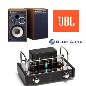經典數位~Blue Aura V30真空管擴大機+JBL 4312M II書架型喇叭 組合
