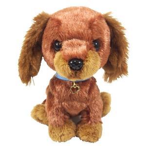 日本PUPS可愛玩偶 達克斯 迷你臘腸犬 仿真小狗絨毛娃娃公仔毛絨玩具狗聖誕節禮物生日禮物紀念日