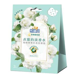 熊寶貝 衣物香氛袋 (經典山茶花)21g【愛買】
