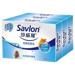 沙威隆 經典抗菌皂 100g (3入)/組