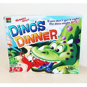 饑餓恐龍遊戲 ←飢餓的恐龍 益智桌面遊戲 親子互動桌遊 家有惡犬 大嘴巴 趕快給我吃東西