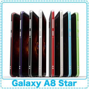 高端鋁合金金屬邊框 Samsung A8 Star 6.3吋 鎖螺絲手機殼 鋁合金保護殼 超炫歐美風「Monster3C