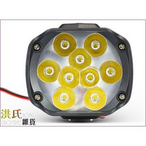 【洪氏雜貨】257A009   LED-L5車燈 15W9燈 白光單入   LED   霧燈 大燈 尾燈