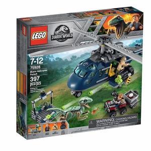 樂高LEGO 侏羅紀 侏羅紀世界 小藍的直升機追蹤 迅猛龍 75928 TOYeGO 玩具e哥