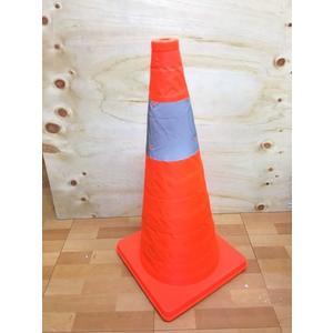 【60公分伸縮三角錐YA003】NO135路錐反光錐筒升降汽車安全警示路障三角錐交通錐【八八八】e網購