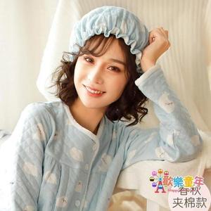 月子帽 春秋月子帽產後防風保暖帽子秋冬孕婦夾棉帽產婦舒適包頭帽子 6色