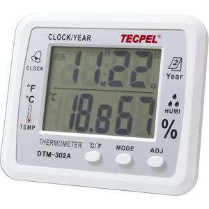 泰菱電子◆大型溫濕度計+農曆顯示 溫度計DTM-302A TECPEL