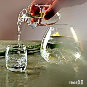 水晶玻璃酒壺家用白酒杯溫酒壺冰酒壺暖酒器燙酒熱酒壺酒具套裝 LN2718 【Sweet家居】