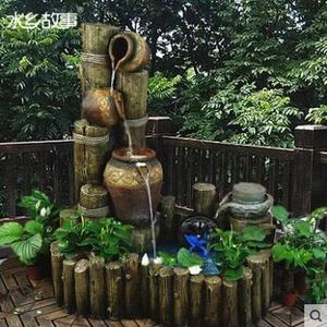 T-大型別墅園林景觀流水噴泉戶外室內陽台客廳創意流水擺件【主圖款】