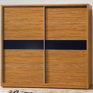 衣櫃 衣櫥 AT-394-2 肯詩特柚木色7X7尺衣櫥【大眾家居舘】