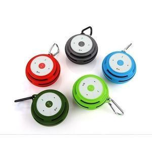 [富廉網] 不見不散 BV600行動版 (藍色) (BV200) 藍芽 無線連接 插卡音箱 語音提示