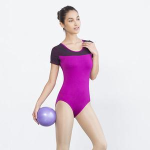 *╮寶琦華Bourdance╭*專業瑜珈韻律芭蕾☆短袖連身服【Y18272】