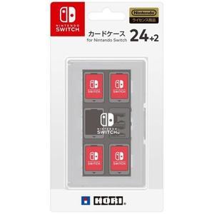 【玩樂小熊】現貨中 Switch用 NS HORI 日本 24+2 卡帶盒 24入卡帶盒 白色 NSW-028