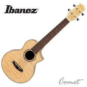 【【烏克麗麗】頂級楓木】 【23吋】Ibanez  UEW10QM-手工鑲貝烏克麗麗【附琴袋】【日本名牌】