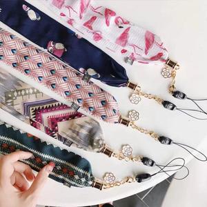絲巾掛繩 通用掛繩 氣質女神款 絲巾綢緞帶掛繩 不勒脖
