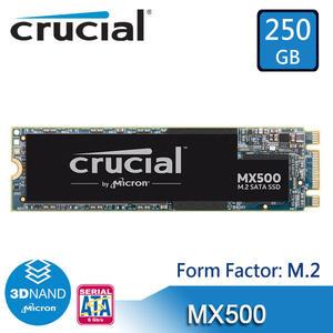 【免運費】美光 Micron Crucial MX500 250GB M.2 (SATA模式) SSD 固態硬碟 / 捷元代理公司貨 250G