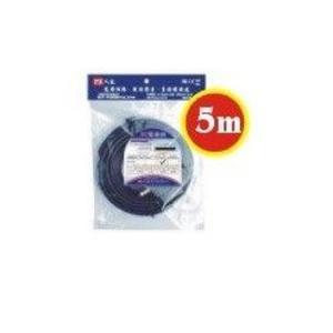 [ 中將3C ]   PX大通 寬頻網路數位電視專用電纜線  PX-5C2V/5M