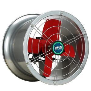 12寸強力圓筒軸流風機工業排風扇排氣扇換氣扇廚房油煙窗式抽風機  WD 聖誕節歡樂購