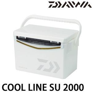 漁拓釣具 DAIWA COOL LINE SU 2000 白黑 (硬式冰箱)