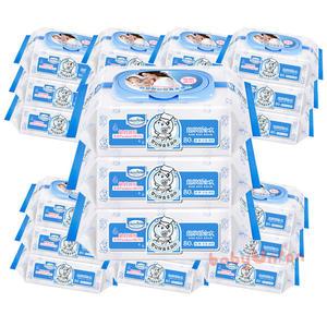 Baan貝恩 - 嬰兒保養柔濕巾80抽 24包/箱