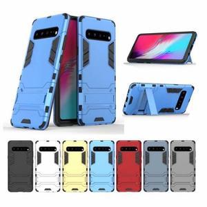 三星 Galaxy S10 5G 手機殼 防摔 三星S10 5G版 保護套 保護殼 全包 支架 手機套 內軟殼 外硬殼 鋼鐵人