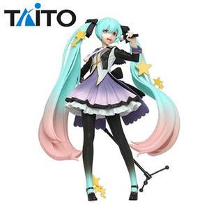 【日本正版】初音未來 10周年紀念 公仔 模型 18cm TAITO 10th Anniversary - 240484