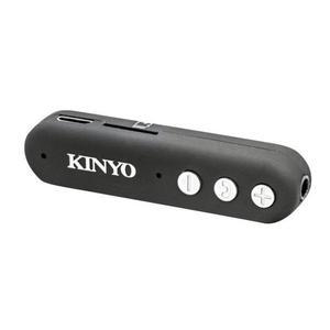 全新原廠保固一年KINYO多功能藍牙無線接收器(BTR-100) 黑色