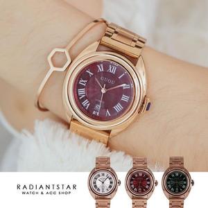 韓國GUOU交換日記金屬鍊帶手錶【WGU8211】璀璨之星☆