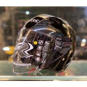 SBK安全帽,SUPER-RR,ABS版,素/黑
