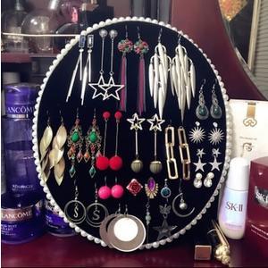 首飾展示架飾品展示板珠寶展示道具耳環架耳釘架項錬架耳環展示架