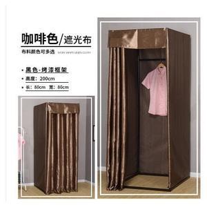 移動試衣間更衣室服裝店便攜式落地布簾簡易試衣間換衣間可定制 MKS免運