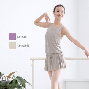 *╮寶琦華Bourdance╭*專業瑜珈韻律芭蕾☆連身百褶罩衫★【BDW16B15】