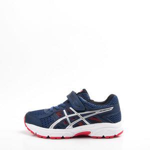 Asics  GEL-CONTEND 4 PS兒童慢跑鞋-藍紅 C709N-400