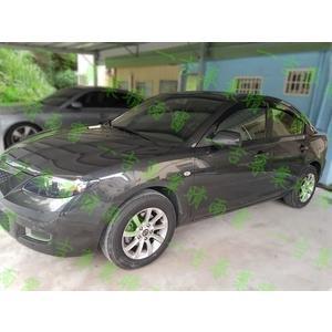【一吉】04-09 一代 Mazda3 (前兩窗) 雷射雕刻款 晴雨窗 /mazda3晴雨窗 馬三晴雨窗 原廠晴雨窗