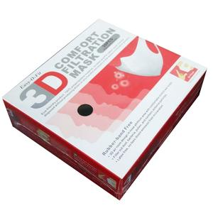 【現貨供應】純黑色女生3D立體口罩(非醫療用),黑色(M)9-11公分