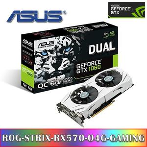 ASUS 華碩 GeForce DUAL GTX1060 O6G GAMING NVIDIA GeForce GTX 顯示卡