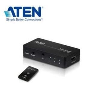【台中平價鋪】全新 ATEN 3埠HDMI影音切換器VS381