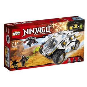 【LEGO 樂高積木】Ninjago 忍者系列 - 鈦忍者衝鋒巨輪戰車 LT-70588