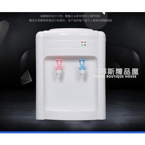 揚電飲水機家用冰熱台式制冷宿舍小型迷你節能特價冰溫熱飲水器QM  維娜斯精品屋