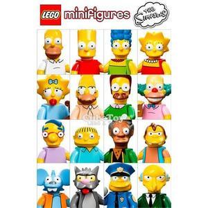 樂高積木 71005 辛普森家族 人偶包 1代 齊全 16隻 ( LEGO Simpsons )