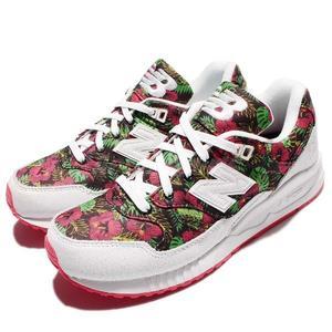 New Balance 復古慢跑鞋 NB 530 紅 白 花卉圖騰 休閒鞋 運動鞋 女鞋【PUMP306】 W530TCAB