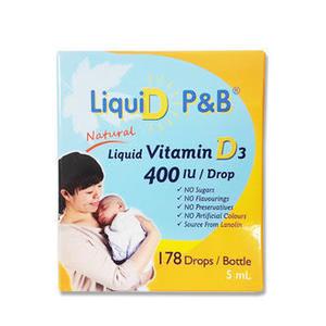 專品藥局 優寶滴- LiquiD P&B 高濃縮天然維生素D3 教學醫院推薦 【2008524】